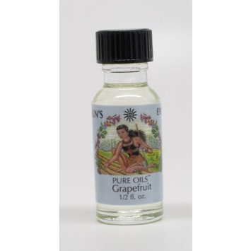 Grapefruit - Sun's Eye Pure Oils - 1/2 Ounce Bottle