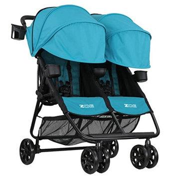 ZOE XL2 BEST v2 Lightweight Double Travel & Everyday Umbrella Twin Stroller System (Eloise Plum)