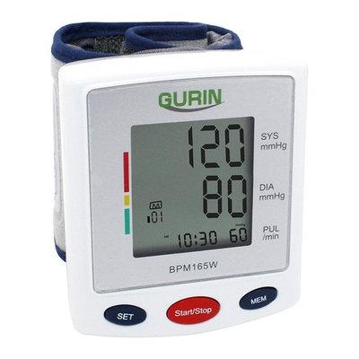Gurin BPM-165W Pro Series Wrist Digital Blood pressure Monitor With Case - Large Display