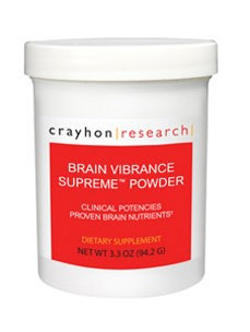 Brain Vibrance Supreme Powder 3.3 oz by Crayhon Research