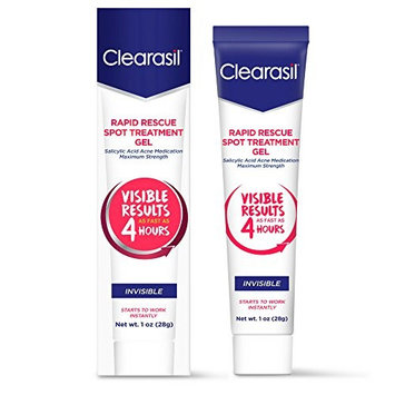 Clearasil Ultra Rapid Action Vanishing Treatment Gel, 1 oz. (Pack of 8)