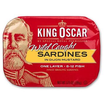 King Oscar Wild Caught Sardines in Mustard, 3.75 Ounce