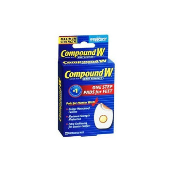 PACK OF 3 EACH COMPOUND W 1 STEP PLANTAR PAD 20EA PT#37513759550