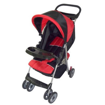 AmorosO 2232 Red and Black Baby Convenient Stroller