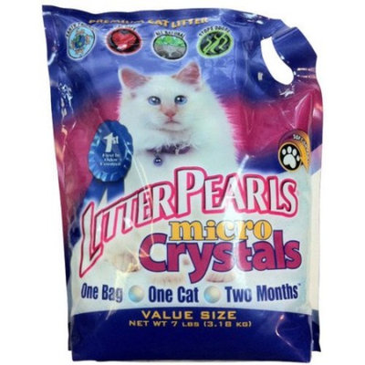 Litter Pearls Micro Crystals Cat Litter 7 Pound Bag