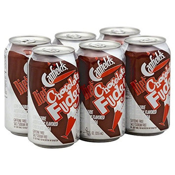 Canfield's Soda Chocolate Fudge Diet 6 cans 12.0 FO(Pack of 4)