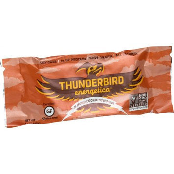 Thunderbird Energetica Energy Bar Almond Cookie Pow Wow 1.7 oz - Vegan