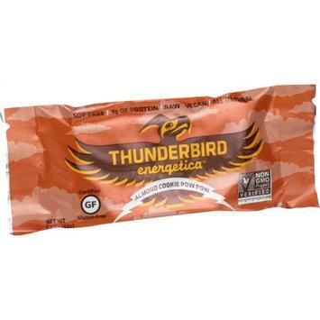 Thunderbird Energetica Energy Bar Almond Cookie Pow Wow 1.7 oz - Vegan