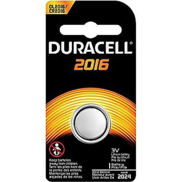 Duracell Button Cell 3V Lithium DL2016/CR2016 Batteries