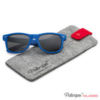 Polarspex Kids Children Boys and Girls Super Comfortable Polarized Sunglasses   Rubberized Frame   100% UV Protection   Lead Free   Recommended for Ages 5 and Under, Royal Blue / Smoke