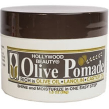 Hollywood Beauty Olive Pomade, 1 oz (Pack of 3)