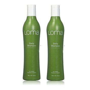 Loma Daily Shampoo 12 oz (Set of 2): Beauty