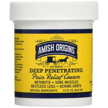 Amish Origins Deep Penetrating Pain Relief Cream 3.5 Oz (pack of 2)