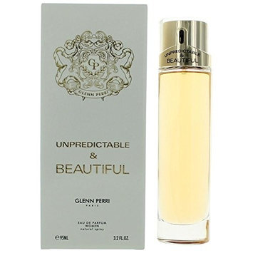 Unpredictable & Beautiful by Glenn Perri, 3.2 oz EDP Spray for Women