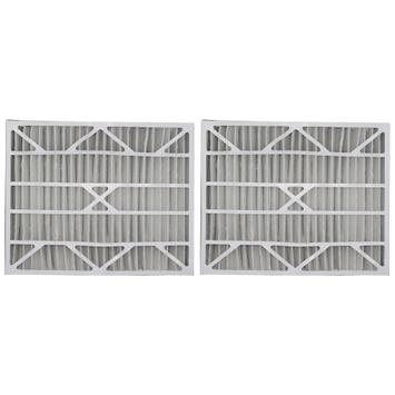 20x25x6 Tier1 Air Filter (Aprilaire Space-Gard) MERV 13 (2-Pack)