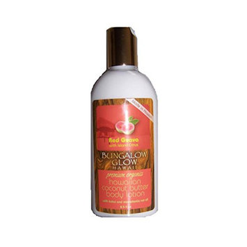 Hawaii Bungalow Organic Coconut Butter Lotion 4 Bottles Red Guava