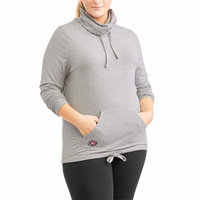 Be Empowered Naturally Women's Plus High Neck Pullover