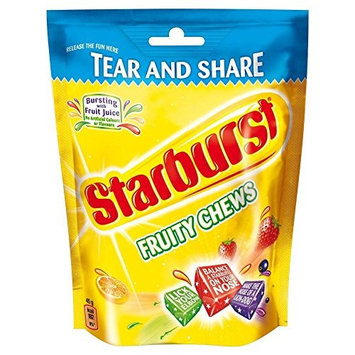 Starburst Original Fruity Chews Pouch Pack of 4