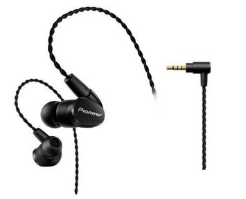 PIOSECH5BLK Pioneer PIOR9 High Performance High Resolution Balanced Wired In-Ear Headphones Black (SE-CH5BL-K)