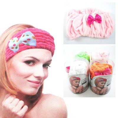 Atb Microfiber Headband Absorbent Hair Drying Wrap Spa Cosmetic Salon Makeup Facial