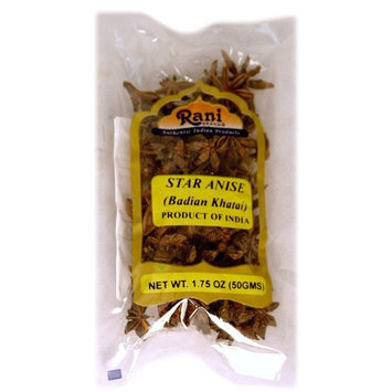 Rani Star Anise Seeds (Badian Khatai) Spice 1.75oz (50g)