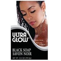 Ultra Glow Soap - Black 3.5 oz. (Pack of 2)