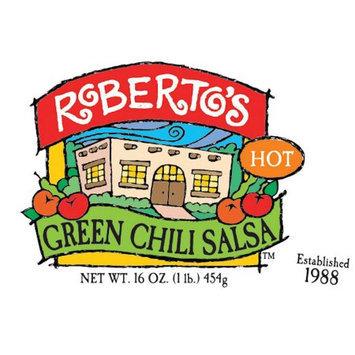 Roberto's Salsas And Sauces Roberto's Green Chili Salsa Hot, 16 oz