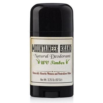 Mountaineer Brand All Natural Deodorant: Timber (Cedarwood & Fir Needle) - Aluminum Free for Men and Women 3.25 oz