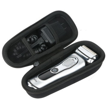Khanka Hard Case Carrying Travel Bag for Braun Series 9 9290cc 9090cc 9075cc 9040s 9095CC Wet and Dry Men's Electric Foil Shaver Rechargeable Cordless Razor