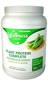 Plant Protein Complete & Amino Complex Life Extension 450 g (15.87 oz) Powder