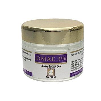 DMAE Anti-Aging Skin Care Gel 3% 1oz Jar