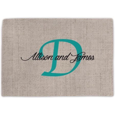 Monogram Online Couples Personalized Placemat