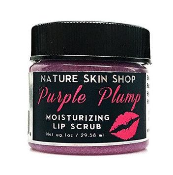 Nature Skin Shop Moisturizing Sugar Lip Scrub (Plumping Purple)