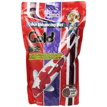 Hikari Gold Pellets Pond Fish Food Medium 35.2 oz.