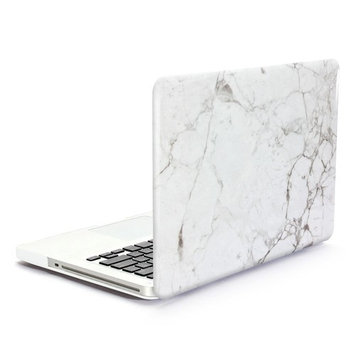 GMYLE Hard Case Print Frosted for The New Macbook 12 inch with Retina Display- Marble Pattern Rubber Coated Hard Shell Case Cover