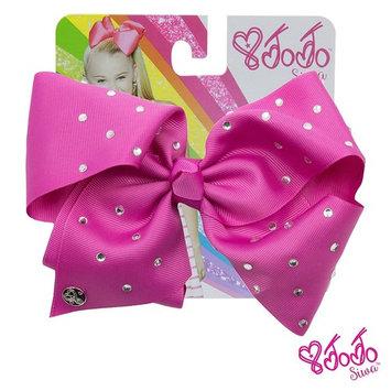 JoJo Siwa Large Cheer Hair Bow (Berry)