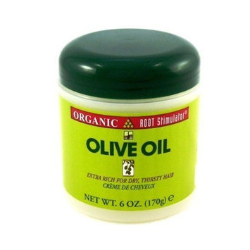 Organic Root Stimulator Olive Oil 6 oz. (3-Pack) with Free Nail File