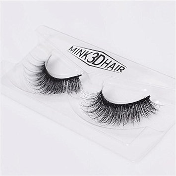 Long Thick Dramatic Look Handmade Reusable 3D Mink False Eyelashes For Makeup 1 Pairs Pack A05