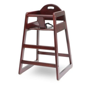 La Baby L.A. Baby Stackable Wood High Chair - Natural