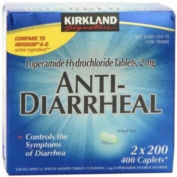 Kirkland Signature Anti-Diarrheal 400 Caplets