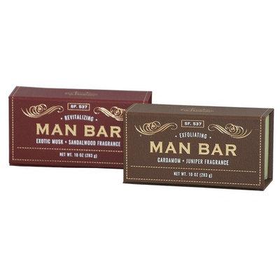 San Francisco Soap Co Man Bar 10 Oz Bar Soap - One Each Cardamom-Juniper and Exotic Musk-Sandalwood