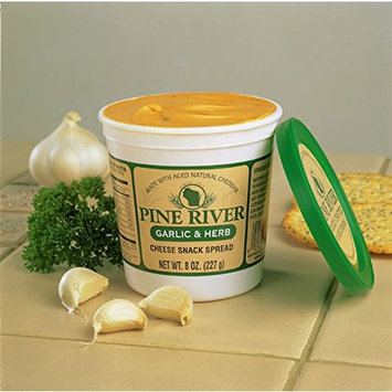 Pine River Garlic & Herb Cheese Spread (3-8oz Tubs)
