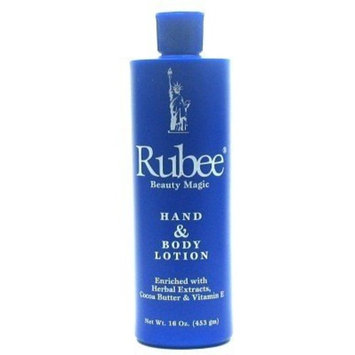 Rubee Hand & Body Lotion 16 oz. (Case of 6)