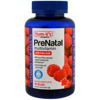 Yum-V's, PreNatal Multivitamin with Folic Acid, Berry Flavors, 90 Jellies