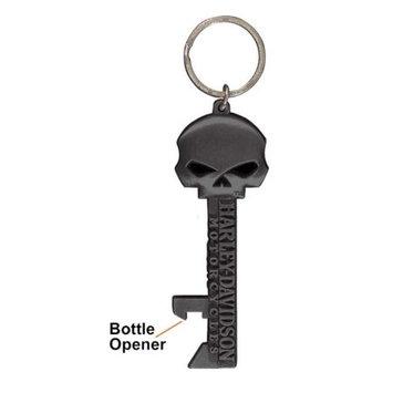 Hot Wheels Harley-Davidson Willie G Skull Skeleton Key Bottle Opener Key Chain KY12406