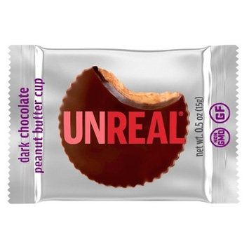 Unreal Dark Chocolate Peanut Butter Cups 0.5 oz.