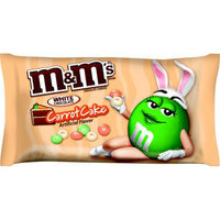 Mars, Inc M & M's White Chocolate Carrot Cake Easter Chocolate Candies, 9.9 oz