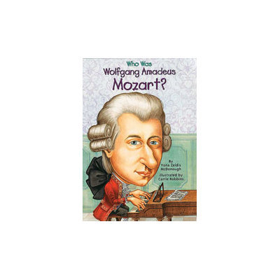 Alfred 74-0448431041 Who Was Wolfgang Amadeus Mozart - Music Book