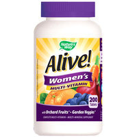 Alive! Women's Multi-Vitamin, Value Size, 200 Tablets, Nature's Way