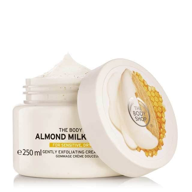 THE BODY SHOP® Almond Milk & Honey Gently Exfoliating Cream Scrub